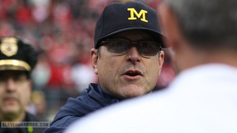 Jim Harbaugh is now 0–4 against Ohio State. Urban Meyer, on the other hand, is 7-0 against Michigan.