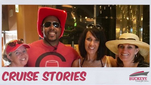 J.J. Sullinger is a mainstay on the Buckeye Cruise for Cancer.