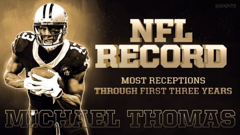 Michael Thomas set another NFL record.