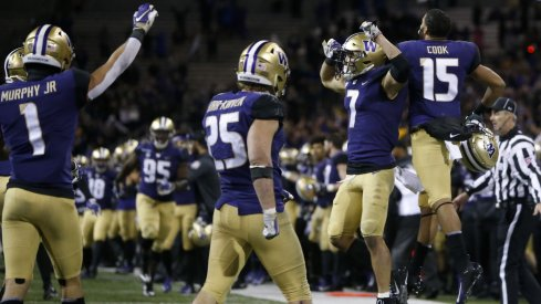 Ben Burr-Kirven, Taylor Rapp, and Byron Murphy lead the dominant Husky defense.