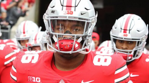 Dre'Mont Jones will play in the Rose Bowl.