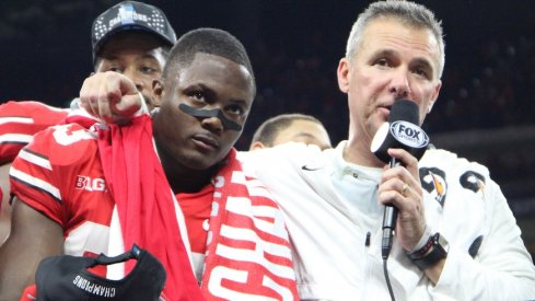 Terry McLaurin and Urban Meyer