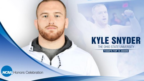 Kyle Snyder, NCAA Honoree