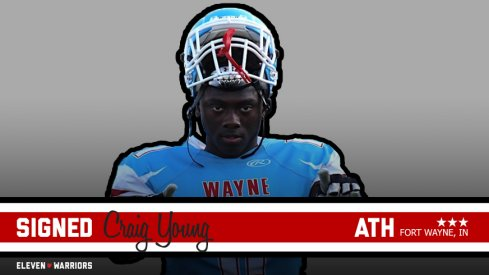 Craig Young signs with Ohio State.