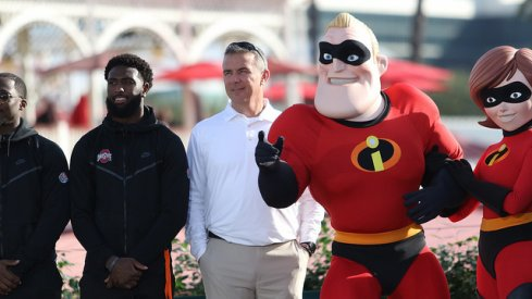 Mr. Incredible does makes an appearance.