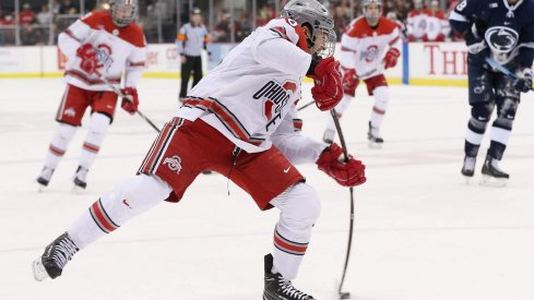 Collin Peters and the Buckeyes begin the second half of the season against Mercyhurst.