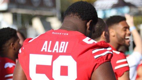 Joshua Alabi will get the start.