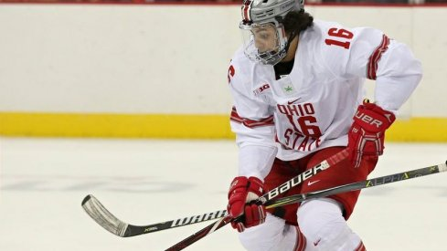 Freshman Quinn Preston recorded his first multi-point game as a Buckeye in a 7-7 tie at Michigan State.