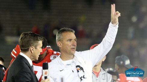 Urban Meyer will appear at the Midwest Sports Spectacular on Sunday, Jan. 20