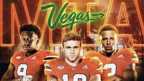 Tate Martell announced he will transfer to Miami