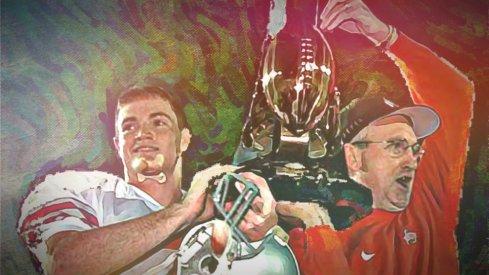 1997 Rose Bowl MVP Joe Germaine and John Cooper