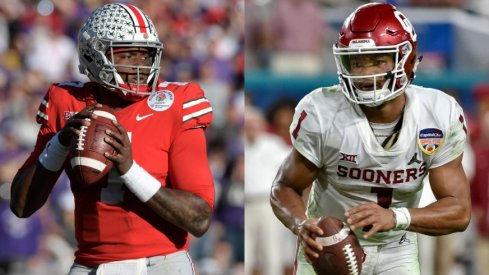 Dwayne Haskins and Kyler Murray