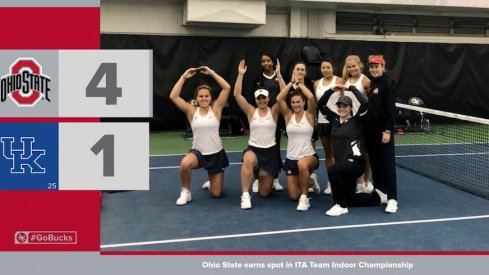 Ohio State's women's tennis team earned a spot in the ITA National Championship Tourament