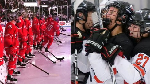 The men's and women's hockey Buckeyes seek more cellies this week as they prepare for Wisconsin and Bemidji State.
