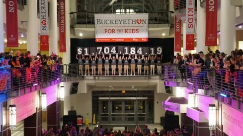 BuckeyeThon Raised 1.7 million for childhood cancer research.