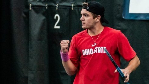 Ohio State destroyed Texas on Sunday to earn a shot at an indoor national title.