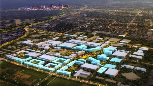 Ohio State's massive innovation district