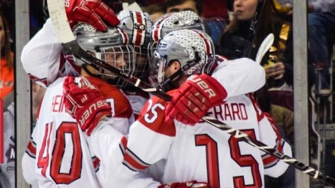 Freddy Gerard led the Buckeye offense in a 5-1 win over visiting Michigan State.