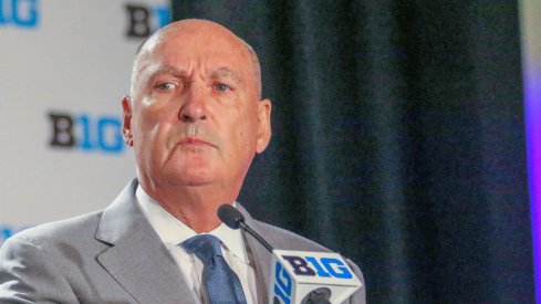 Jim Delany will step down as Big Ten Commissioner.
