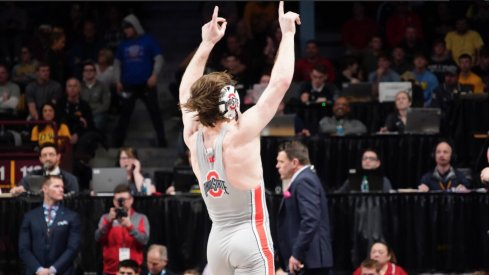 Joey McKenna Wins Back-to-Back B1G Titles