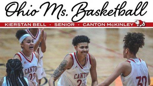 Kierstan Bell wins Ohio Ms. Basketball.