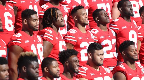 Practices are underway and we grade Ohio State's nine units with the spring game just a month away.