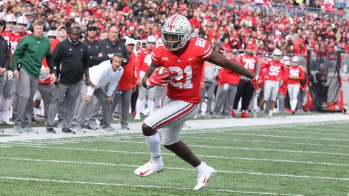 Parris Campbell, Fast Human Being