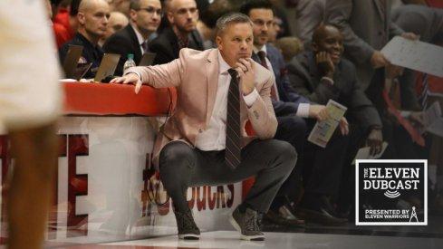 Ohio State men's basketball coach Chris Holtmann
