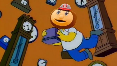 """I'm the first NON-Brazilian mascot to travel through time!"""