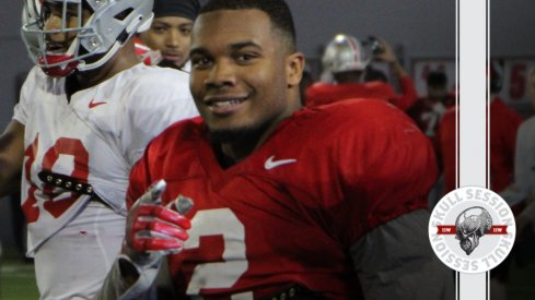 J.K. Dobbins is pleased to have me back in today's Skull Session.