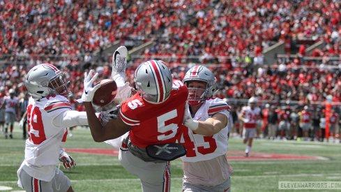 Garrett Wilson, good at football