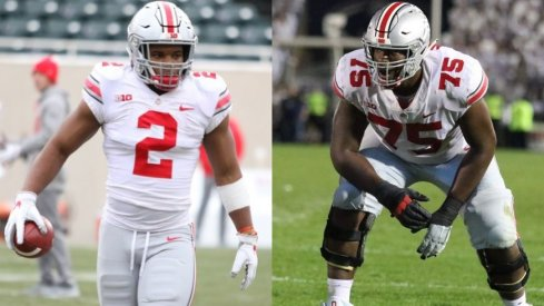 Ryan Day's offense will lean heavily on veterans J.K. Dobbins and Thayer Munford.
