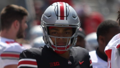 Justin Fields leads the way for the Buckeye quarterbacks room.