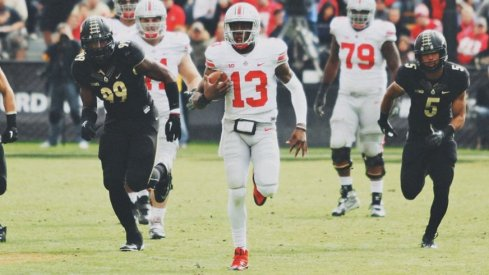 Former Ohio State quarterback Kenny Guiton