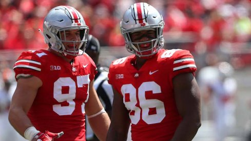 Nick Bosa and Dre'Mont Jones