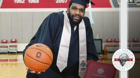 Greg Oden graduated in today's Skull Session.