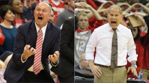 Thad Matta and John Beilein brought passion and success to their respective Big Ten programs.