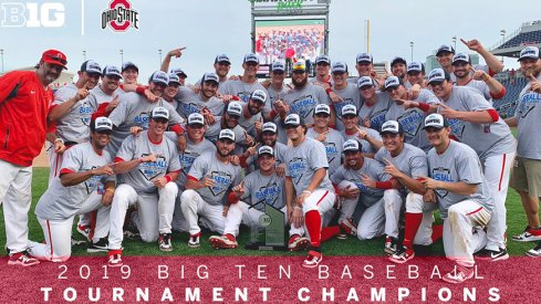 The Buckeyes topped Nebraska to take home the Big Ten title on Sunday.