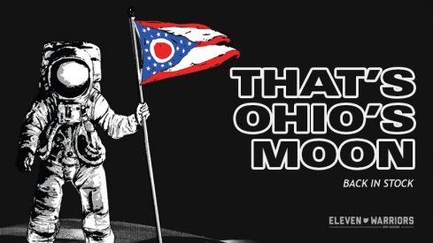 Ohio's Moon T-shirts are back in stock.