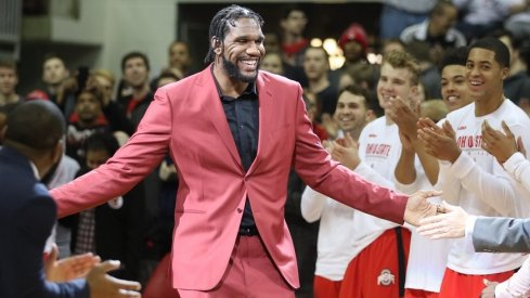 Former Ohio State player Greg Oden