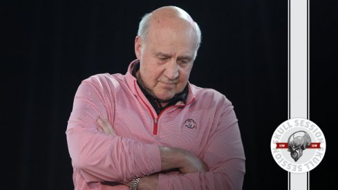 Greg Mattison is folding his arms in today's Skull Session.