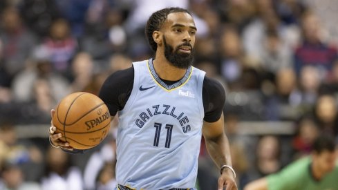 Mike Conley's number will be retired.