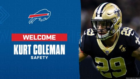 Curt Coleman is now a Bill.