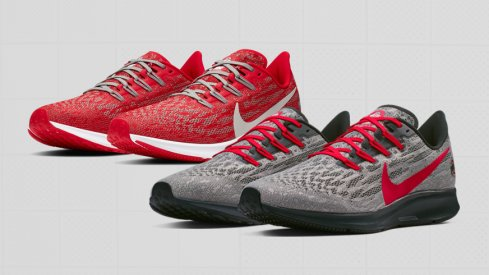 Ohio State Nike Air Zoom Pegasus 36 on sale now