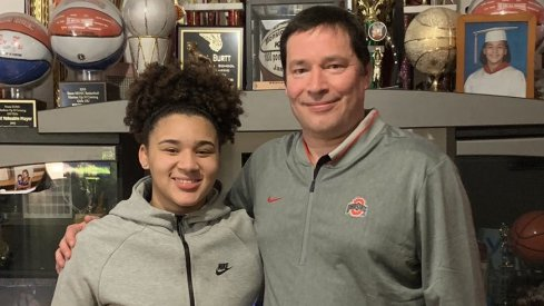 Kateri Poole joins the Buckeyes.