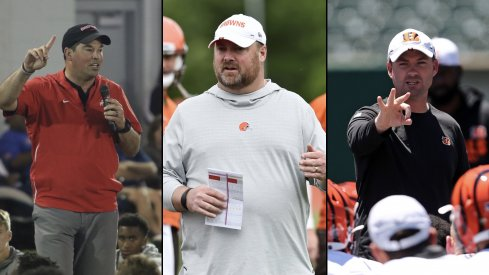 Day, Kitchens, and Taylor represent the first time the Buckeyes, Browns, and Bengals have all welcomed new head coaches in the same season.