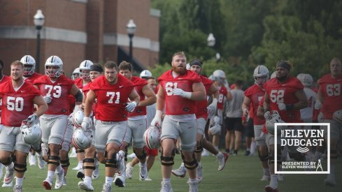 Ohio State takes the (practice) field.