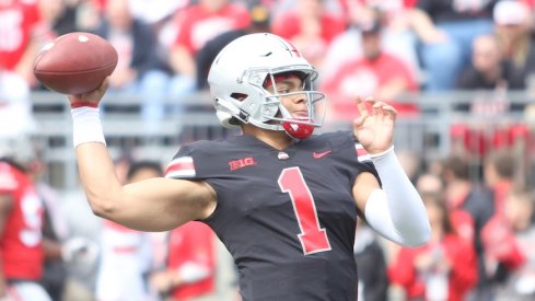 Justin Fields has officially been named Ohio State's starting quarterback.