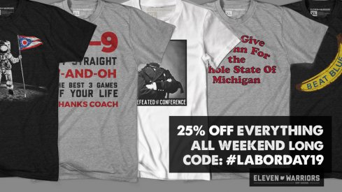 25% Off Everything this Weekend at Eleven Warriors Dry GoodsHa