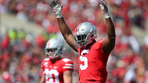 Baron Browning and the Buckeye linebackers lead a re-emerging unit